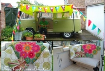 Cool Kombi's and Camping / by Sally-Ann McAlister-Donald