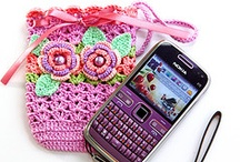 Crochet & Knitting Odds-n-Ends / Purses, bags, slippers, hats, potholders, rugs - the list goes on! / by Trixie Vallient