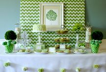 Green Party Ideas / by A to Zebra Celebrations ~ Nancy ~