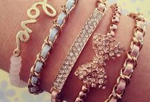 Jewelry, a girls best friend ;)  / All girls love to accessorize. Be it a pretty bracelet, a funky cuff or a beautiful necklace..all things jewelry, are what we love!   / by Samiha Samin