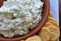Recipes Dips and Appetizers / by Tammy Kulcsar
