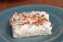 Desserts ~ Brownies,Bars & Squares / by Kelley Galyen