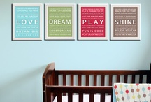 For the nursery / by Heather Brown