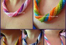 crochet jewelry / by Sharla Horner