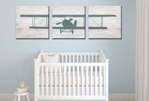 New nephews nursery! / by Katie Leviner