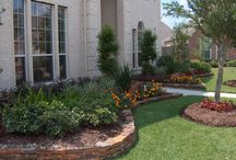 Front yard flower bed ideas  / by Desiree Dyck
