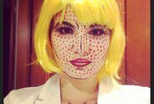 Roy Lichtenstein costume / Pop art costume Roy Lichtenstein Costume / by Sara Vasquez