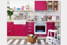Dream Home - Fun Stuff / Bright colors, unique fixtures, modern + retro designs, eclectic + crafty things, household items to make life easier... ways to make the dream home fun. / by Sarah Wood