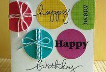 Cards-Happy Birthday / by Amanda Williams