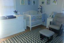 Nursery for Baby Boy / Ideas for a boy's nursery / by Aziza Furbert