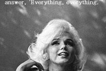 M: Marilyn /  Classic Beauty!  / by Kacey Palacios