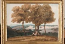 Harewood Watercolours / JMW Turner, Girtin and Varley are just some of the famous names who started careers at Harewood. Once seen as challenging modern art, the watercolours at Harewood set the tone for collecting and patronage which continues today. / by Harewood House