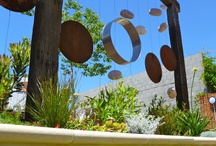 Garden Art Kinetic / Mobiles and other art with movement or the potential for movement being a key feature belong in this category. / by Ann Ayers