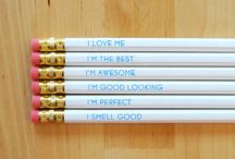 Stationery / I'm addicted to stationery and I'm not even ashamed / by Kate Flood
