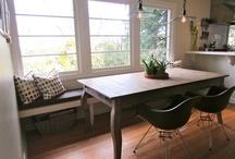 kitchen nook ideas / by Larisa Dalbey