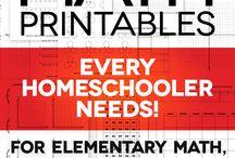 Homeschool | Math / by Kelsi Rea