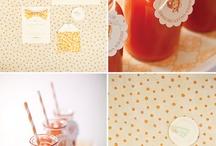 Orange Wedding Inspiration / by MagnoliaRouge