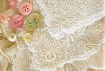Lace / Is there anything more beautiful than Lace? All delicate and open and airy..soft and feminine.  I love it! / by Cindy Urban