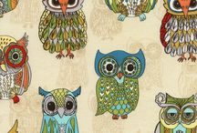 Owls for Work Stuff / by Cindi Whittaker