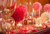 table decorations / by Vickie McQueen