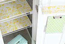Linen Closet/Pantry Ideas / by Kaitlyn Cunningham