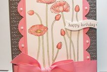 Pleasant Poppies Cards SU / by Patricia Lemont
