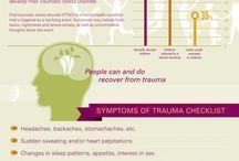 trauma / by Gail Pollard: Social Work Services