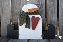 Wood Block Crafts / by Chef Sheldo (: