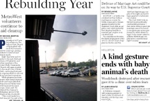 Front pages / by MetroWest Daily