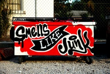 street art likes / random street art inspiration.  no particular place.  no particular artists unless noted. / by Daniel Tacker