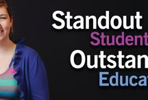 Stand Out / Shawnee State is a student-focused public university offering a highly personalized, affordable, and accessible education dedicated to the exploration of emerging technologies and emerging ideas. / by Shawnee State University Alumni Association