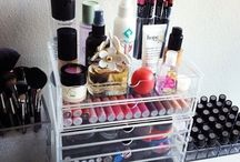 Makeup organization / by Shannon McDougall