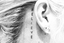 Piercings&Tattoos. / by Chelsey Bush