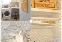 dream laundry room  / by Courtney Wiggins