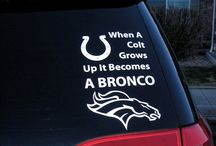 broncos / by Charity Watson