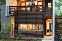 Modern Architecture / by Shavonda Gardner {AHomeFullOfColor}