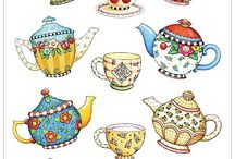 Teapots and Teacups / by Chris Coley