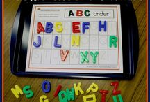 Alphabet Centers / by Casey Phillips