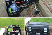 Chuck box / Cleaver ideas to make or build your own Chuck box / by Cooking Outdoors