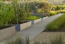 Edible Formal Garden Spaces / Formal potagers and kitchen garden details. / by Susan Cohan