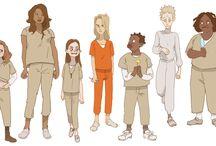 Character design / by Hyunjoo Choi