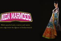 Nida Mahmood - Designer Wear / Nida Mahmood is all about revolutionary fashion! It's about color, contrast and 'I don't care what you think'. Discover multi paneled saris with kaleidoscopic patterns on the pallu and traditional tunics gone edgy from the Queen of Indian kitsch.  Shop Now>> http://goo.gl/P4FvPZ / by Exclusively In