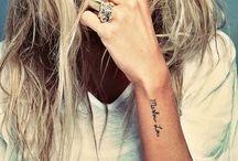 Tattoos / by Julie Johnston