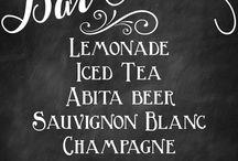 Wedding Chalkboard Signs / by Lisa Coker