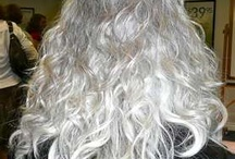 Fabulous Gray Hairstyles!  / by Tammie Spain