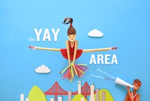 "Yay! Area / A pure and simple celebration of where Speck was born: the beautiful San Francisco Bay Area! Take a look at some of our favorite hidden ""Yay Area"" treasures. What're some great things about your hometown? / by Speck Products"