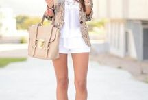 Who Wears Short Shorts / Out fits with that include shorts that I love / by Amy Hendrix
