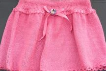 Adorable Short Skirt / by Learn Knitting Stitches Free Patterns
