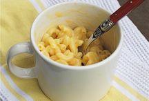 Food in a mug. / Nom nom in a coffee cup? / by Heather Cheney