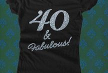 My 40 & Fabulous! 2014 / by Naomi Lemmon